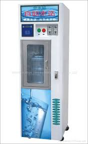 bottled water machines