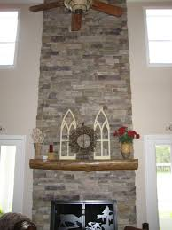 ledgestone fireplaces
