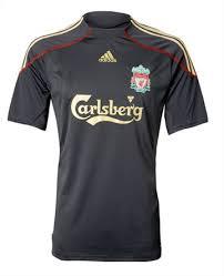 liverpool away shirt 2009 10