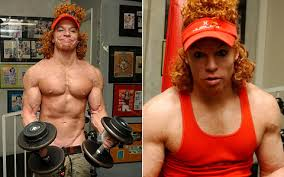 carrot top muscle gain