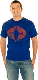 gi joe cobra shirt