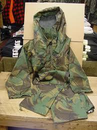 army rain gear