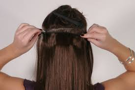how to clip in extensions