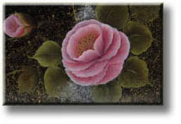 brush roses