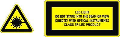 led warning