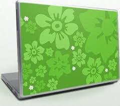 green lap top