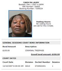 criminal rap sheet