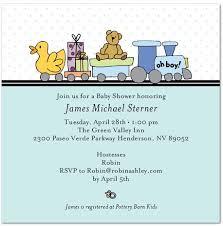 baby boy invites
