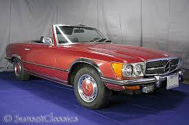 mercedes 450 sl convertible