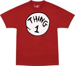 thing 1 tshirts
