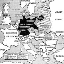 map of germany before ww1