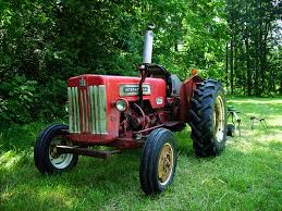 b414 international tractor