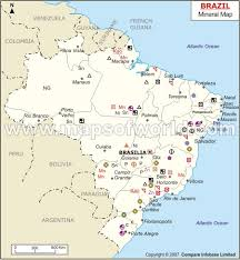 brazil natural resources map