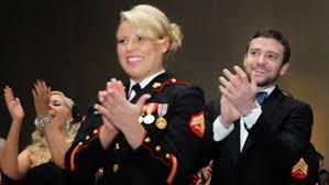 Justin Timberlake Marine Corps