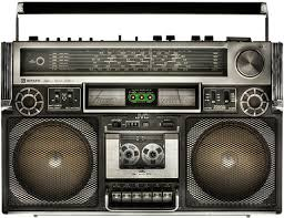 large boombox