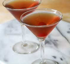 manhattan cocktail glasses