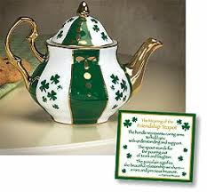 irish tea pot
