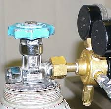 gas bottle regulator