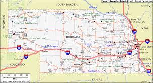 nebraska road map