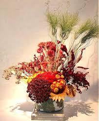 dry floral arrangement