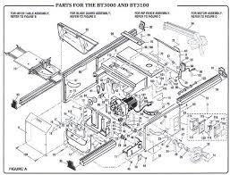 table saw parts
