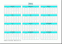 free calendar layout