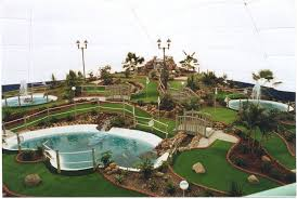 mini golf courses