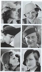 hats 1930s