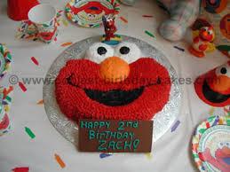 elmo cake decoration