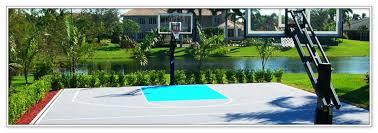 backyard sport courts