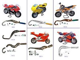mini bike exhaust