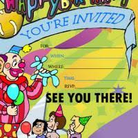 children party invitation