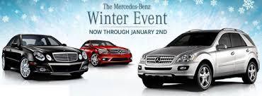 mercedes benz winter event