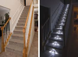 led stair
