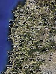 google map lebanon