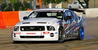 mustangs drifting