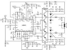 class d amplifier schematic