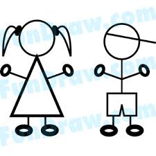 stick figure people clip art