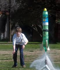 air propelled rockets