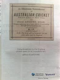 cricket commercials
