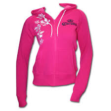 bright pink hoodies