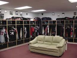 baseball locker rooms