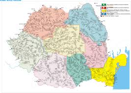 harta feroviara romania