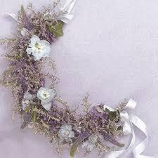 flower girl hair wreaths