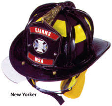 firefighting helmets