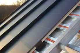 standing seam roofs