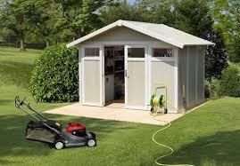 pvc garden shed