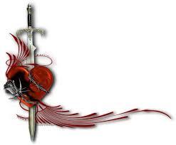 heart sword