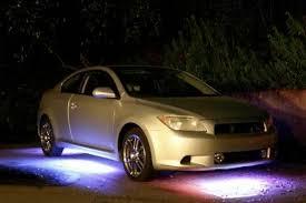 lights under the car