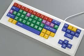 large key keyboard